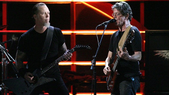 Lou Reed/James Hetfield