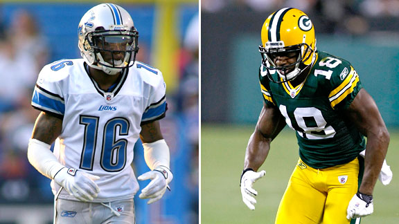 Titus Young and Randall Cobb