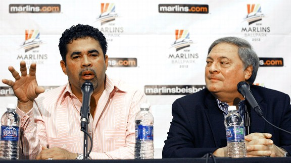 Ozzie Guillen and Jeffery Loria
