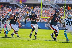 Matt Forte was the first Bears' RB to rush for more than 200 yards since 1977.