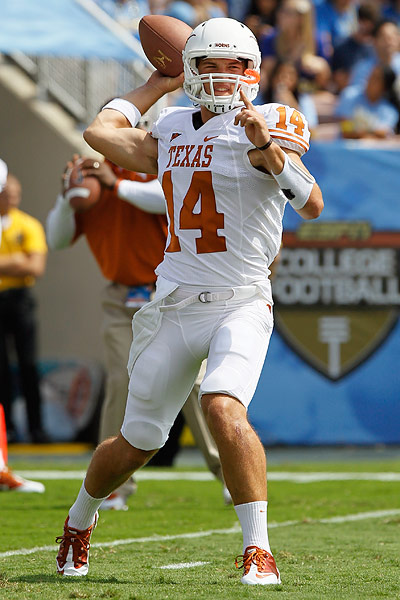 HornsNation: Script unfinished in story of future Texas QB Hornsnation