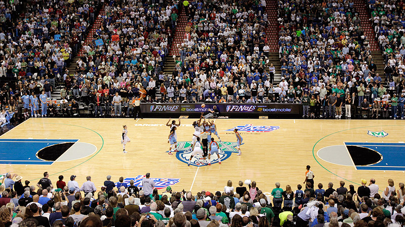 Target Center Crowd