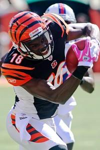Cincinnati Bengals wide receiver A.J. Green