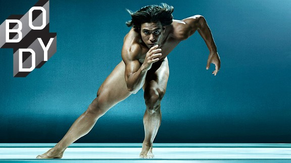 Apolo Ohno ESPN Body Issue