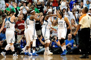 Minnesota Lynx celebrate