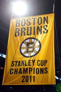 Boston Bruin banner