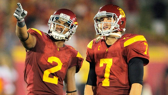 Robert Woods and Matt Barkley