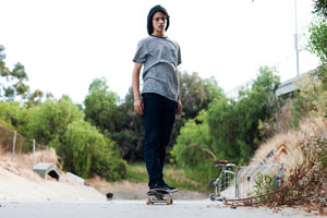 Dee Ostrander's skateboarding career is starting to roll in the right direction ... fast.