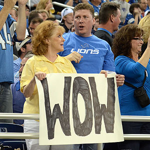 Lions Fans