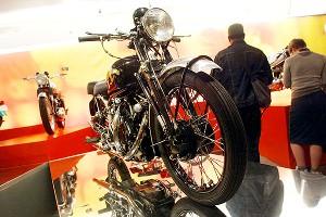 Vincent Black Shadow Series C motorcycle
