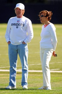 Mark Davis and Amy Trask