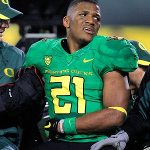 Oregon running back LaMichael James