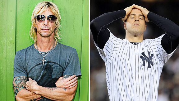 Duff McKagan, Mark Teixeira