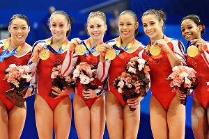 US Gymnastics w/ Medals