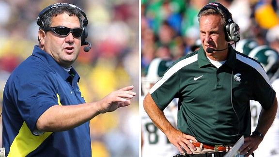 Brady Hoke/Mark Dantonio