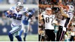 Jason Witten, Rob Gronkowski and Aaron Hernandez