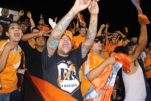 Houston Dynamo fans