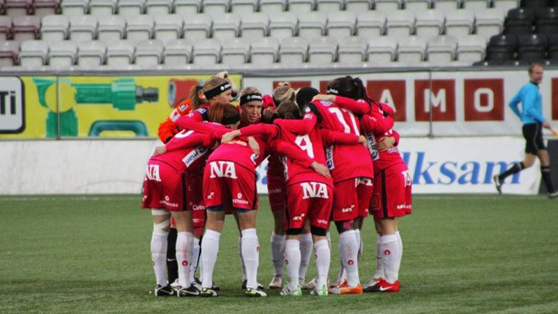 Swedish Damallsvenskan Women's Socce Team