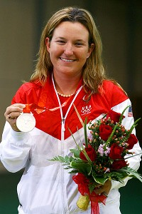 Pan Am participant Kim Rhode has won four Olympic medals in shooting.