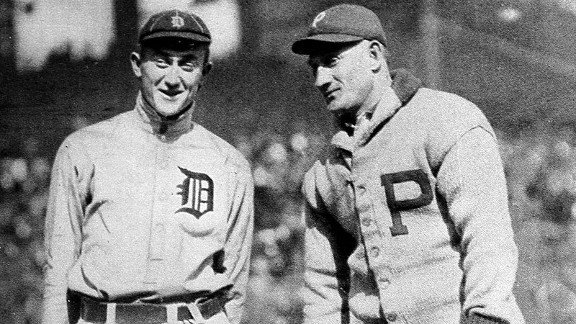 Two of the game's greatest players ever, Detroit's Ty Cobb and Pittsburgh's Honus Wagner, were inducted into the Hall of Fame together as part of the inaugural class in 1936.