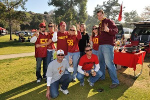 USC tailgaters