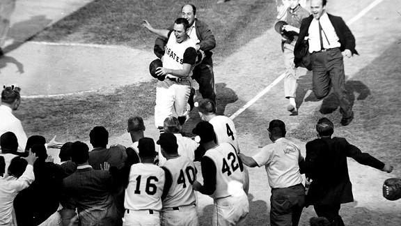 Bill Mazeroski's World Series-ending home run still ranks as the greatest home run in Major League Baseball history.