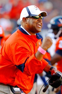 Virginia head coach Mike London