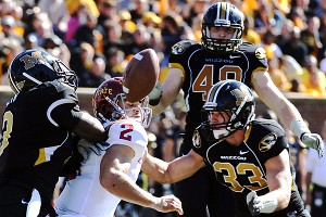 Missouri defense and Steele Jantz