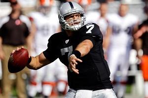 Oakland Raiders quarterback Kyle Boller