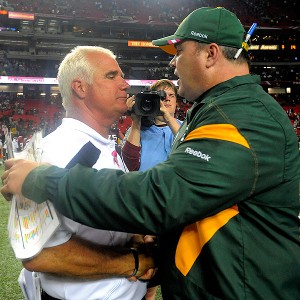Mike McCarthy and Mike Smith