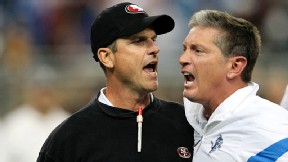 Jim Harbaugh & Jim Schwartz