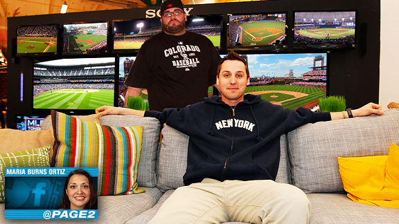 Man Cave Espn : Mlb fan cave a last minute addition pays dividends for