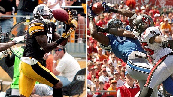 Mike Wallace and Calvin Johnson