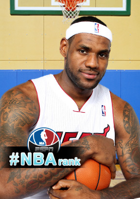 NBA Rank: LeBron James