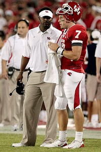 Case Keenum and Kevin Sumlin