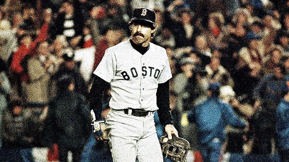 Bill Buckner against the New York Mets in the 1986 World Series