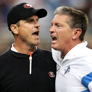 Jim Harbaugh, Jim Schwartz