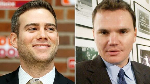 Theo Epstein and Ben Cherington