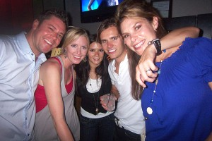 Jamie Little and Dan Wheldon