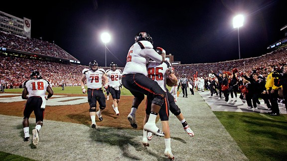 Texas Tech celebrates