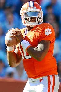 Clemson quarterback Tajh Boyd 