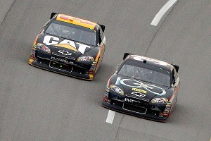 Clint Bowyer, Jeff Burton