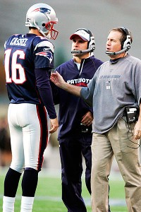 Matt Cassel and Bill Belichick