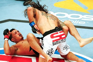 Clay Guida and Anthony Pettis