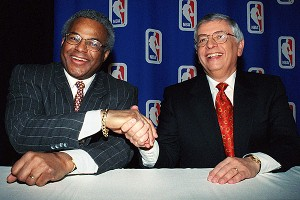 Billy Hunter & David Stern