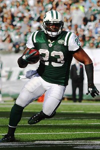 New York Jets running back Shonn Greene