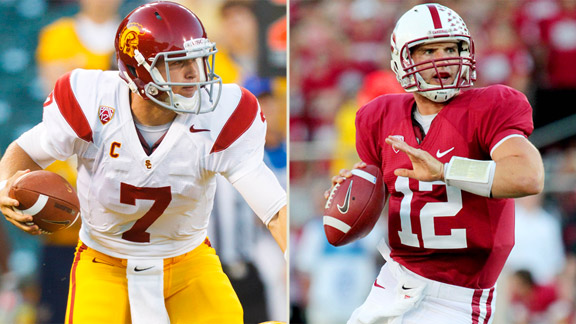 Matt Barkley, Andrew Luck