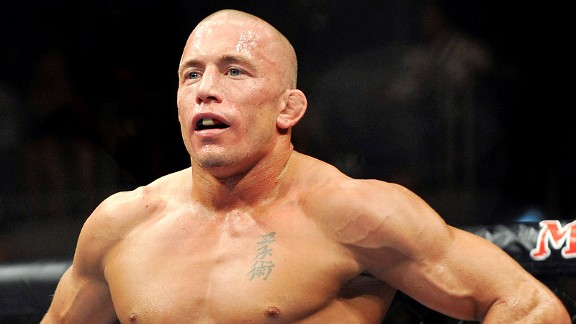 George St. Pierre