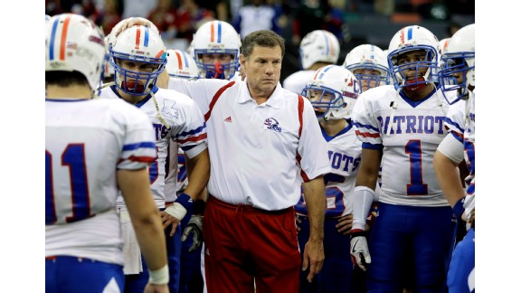 Coach J.T. Curtis of John Curtis (River Ridge, La.) in now in the exclusive 500-win club and has led his  Patriots to 23 state titles over the years.