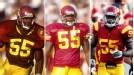 Willie McGinest, Chris Claiborne, Lamar Dawson